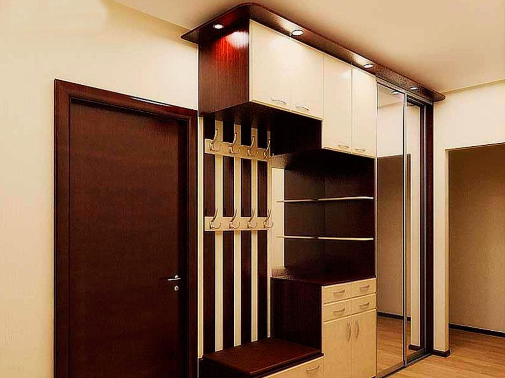 округлая шкафы купе для узкой прихожей фото дизайна